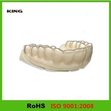 Customized machining teeth resin / ABS fast plastic prototype