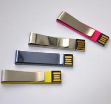 Metal Clip USB drive, TOP HOT mini clip usb New design, Clip shape USB key