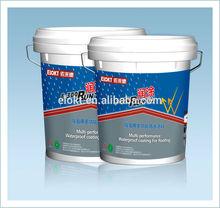 Multi-performance Elastic Acrylic Polymer Waterproof Roofing Coating