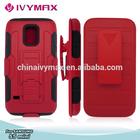 popular in USA shockproof case for s5 mini holster hybrid case