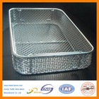 High quality anti-corrosion stainless steel wire mesh kitchen cooking basket (Factory)