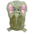 elefante plegable lavadero infantil niños pop up barral de depósito de almacenamiento de juguetes