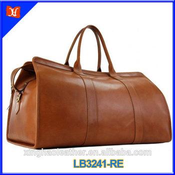 New design fashion leather bag travel