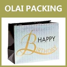 Manufacturer birthday gift Promotional Paper Bag