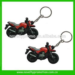 3D PVC Motorcycle keyring