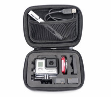 Protective Case For GoPro HD Hero 2/3 Camera Tool Accessories Black Bag in kit