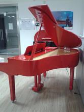 Digital Piano Factory 88 keys Touch Sensitive Hammer Keyboard MIDI Red Polish Grand Piano HUANGMA HD-W100 HUANGMA digital piano