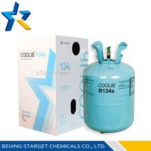 Pure refrigerant gas air conditioning & refrigerator car r134a