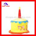 Custom 2014 torta di compleanno cappelli, basso costo e buone materiale cappelli, torta stile cappelli
