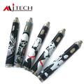 Duas maneiras de carregamento mecânico mod cigarro eletrônico manual mjtech ola x 3.3-5.5v superior tensão de torção