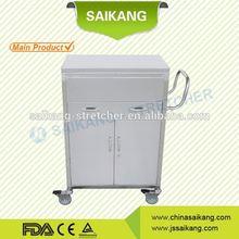 SKH020-1 stainless steel medical instrument nursing trolley