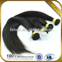 Fashion straight hair high quality tresses hair