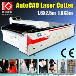Laser Cutting Machine Clothes/Laser Cutting Machine for Garment Pattern Making