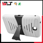 Rugged PC plus silicone compact hard back cover for p3200 case