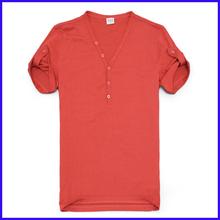 2014 fashion man customized slim fit 100 cotton deep v neck t shirts bulk
