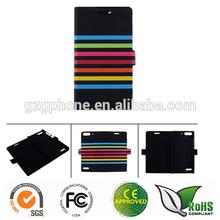 OEM/ ODM custom printing leather lighter case for Huawei G6