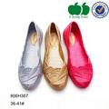 Mujeres ocasionales de los planos zapatos