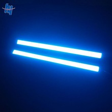 high power 17cm white/ ice blue/blue/ warm white colors led drl car