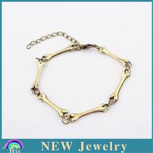 Hot sell usa style bamboo jewelry bracelet diamond gold brcelet friendship PB1651