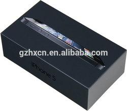 Customized luxury and wholesale iphone 5 box size