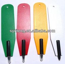 colourful promotional mini flat pen