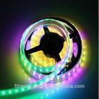 DC5V 4M 60LED/m 60IC/M WS2811 WS2812b full RGB color SMD5050 waterproof led pixel strip
