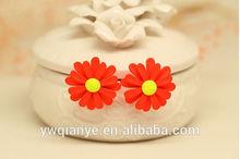New Fashion Korean Jewelry Earrings Little Daisy Stud Earrings China Wholesale