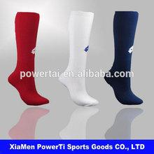 Blue/red/white customized Basketball/football Crew Socks Mens Sports Socks