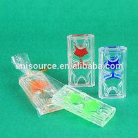 Acrylic bubble liquid timer