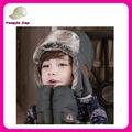 top vendita oem su misura bambini inverno cappello russo di pelliccia ingrosso