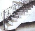 decorativo ferro forjado galvanizado escadas corrimão corrimão