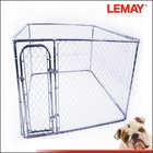 7.5x7.5x6ft hot-sale large chain link dog kennel in stock