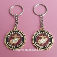 US marine corps challenge coin keychains