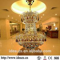 C9172 luxury modern chandeliers ,crystal prisms chandelier lamps , crystal drop pendant light
