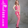 H30084 Pink color Hot sale women sexy spandex body stockings