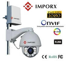 1080P wireless wifi ip high speed dome security camera, pan&tilt&zoom, OSD menu, SD Storage, Onvif, Waterproof