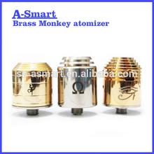 A-smart RDA 1:1 rba/rda brass monkey good quality new coming atomizer
