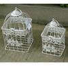 decorative wrought iron square import bird cages