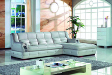 popular comfortable geniune leather sofa