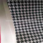 PVC Fake Leathe with swallow gird pattern