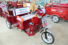 2014 Baidai 60V700W New folding e ricksahw type tricycle