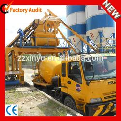 HZS50 construction building compact concrete batching plant