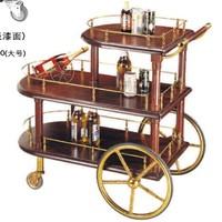 stainless steel beverage cart