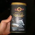 Lata de café pode, café da lata recipiente, café tin vasilha