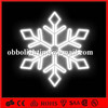 CE/ROHS outdoor inflatable christmas inflatable snowflake