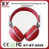 small cell phone mp3 wireless headband stereo bluetooth headphone