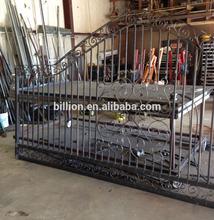 decorative driveway iron gate models