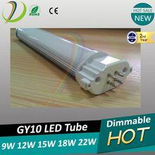 22w LED 2G11 Tube replace Master PL-L 40W halogen 22w 2g11 led light 1980lm CRI>80 PF>0.95 lamp tube FPL,PLL 2G11 lamp