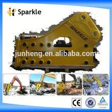 polyurethane damper for hydraulic breaker/SPARKLE SP1750 SIDE TYPE ROCK BREAKER
