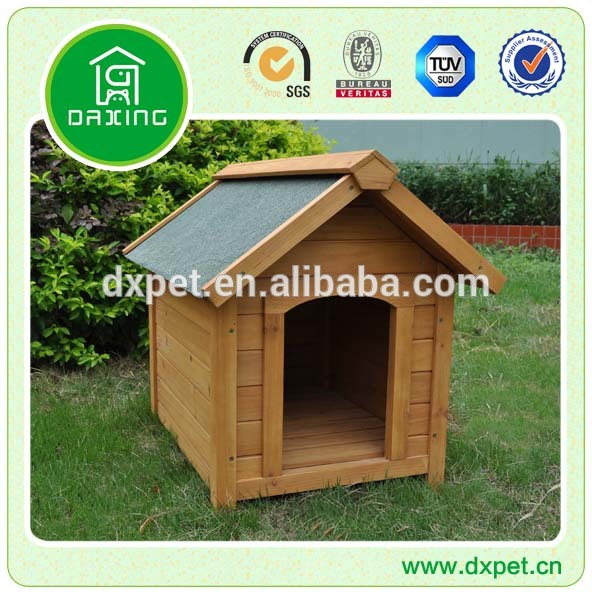Waterproof Outdoor Wooden Dog Kennel Pet Kennel For Sale DXDH004
